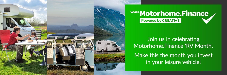 Motorhome.Finance Celebrate 'National RV Month' 1